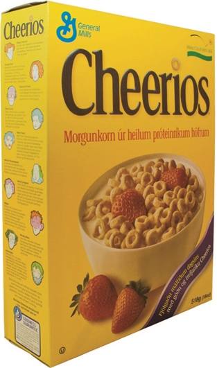 Cheerios orginal 518 g