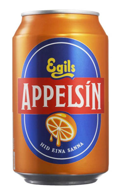 Egils Appelsin/Orange sodavand (0.5l) Inc.Pant