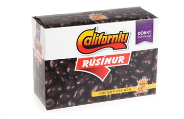 Goa Californiu Raisins mørk 400g